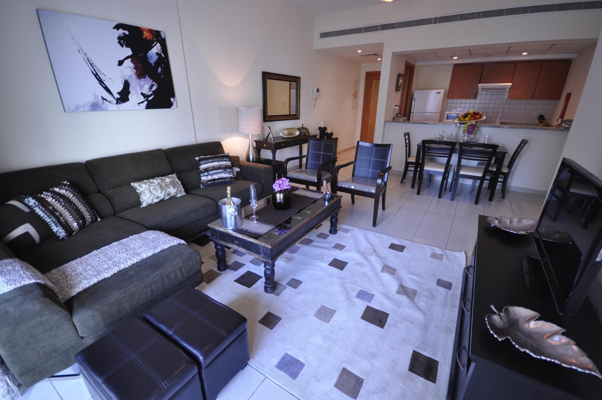 Large Modern Family 2 Bed Apt   Al Samar