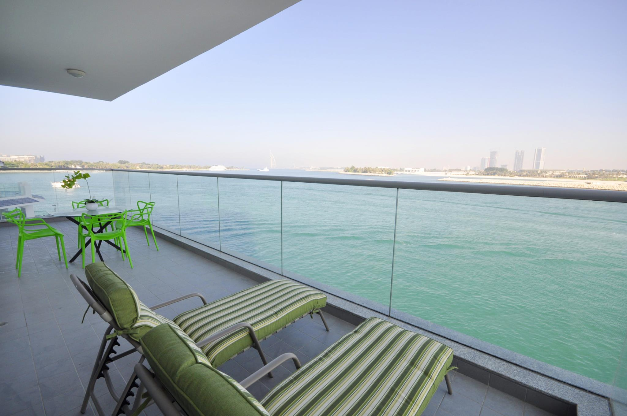 2 Bed +maid Apt With Sea View And Burj Al Arab View