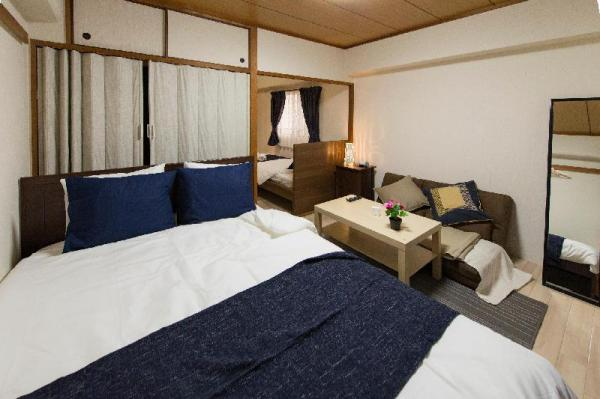 #501 10mins walk Namba&Shinsaibashi & pocket WiFi Osaka