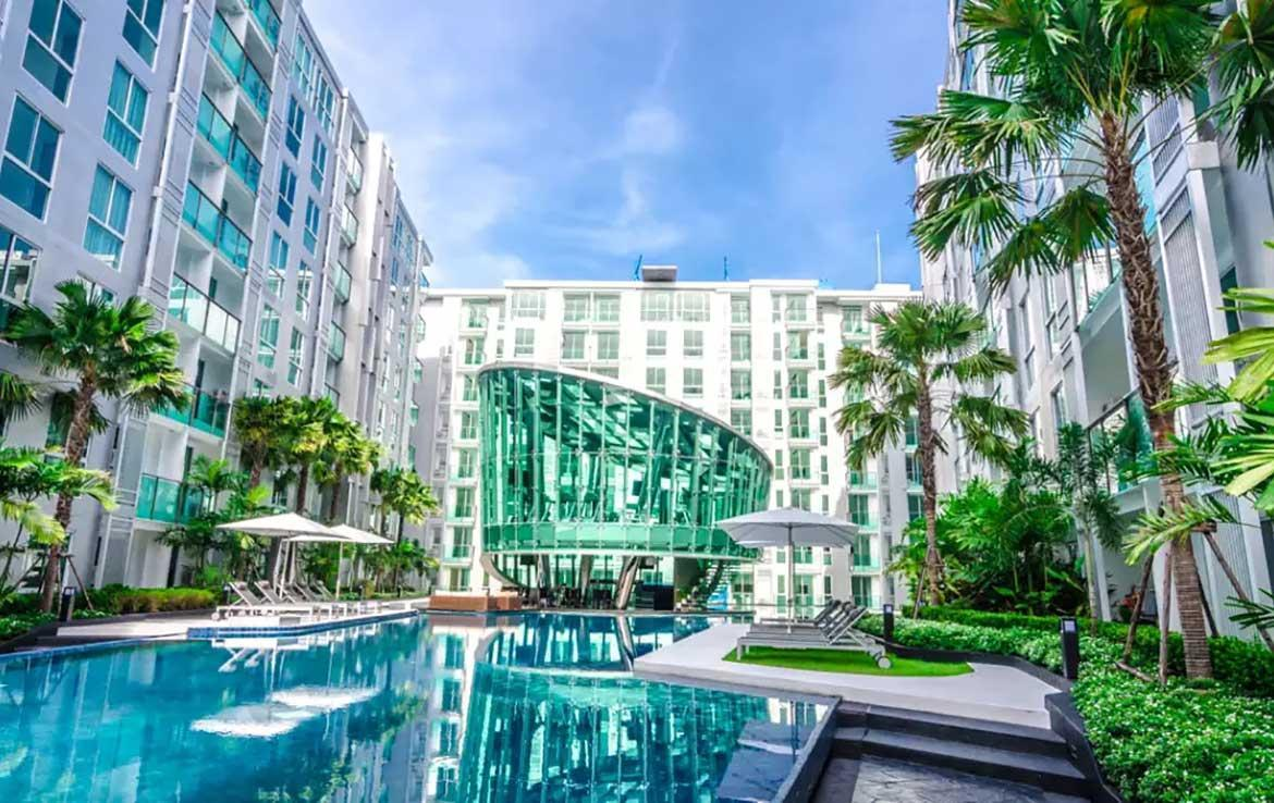 Brand New Deluxe 1BR Apartment With Pool View