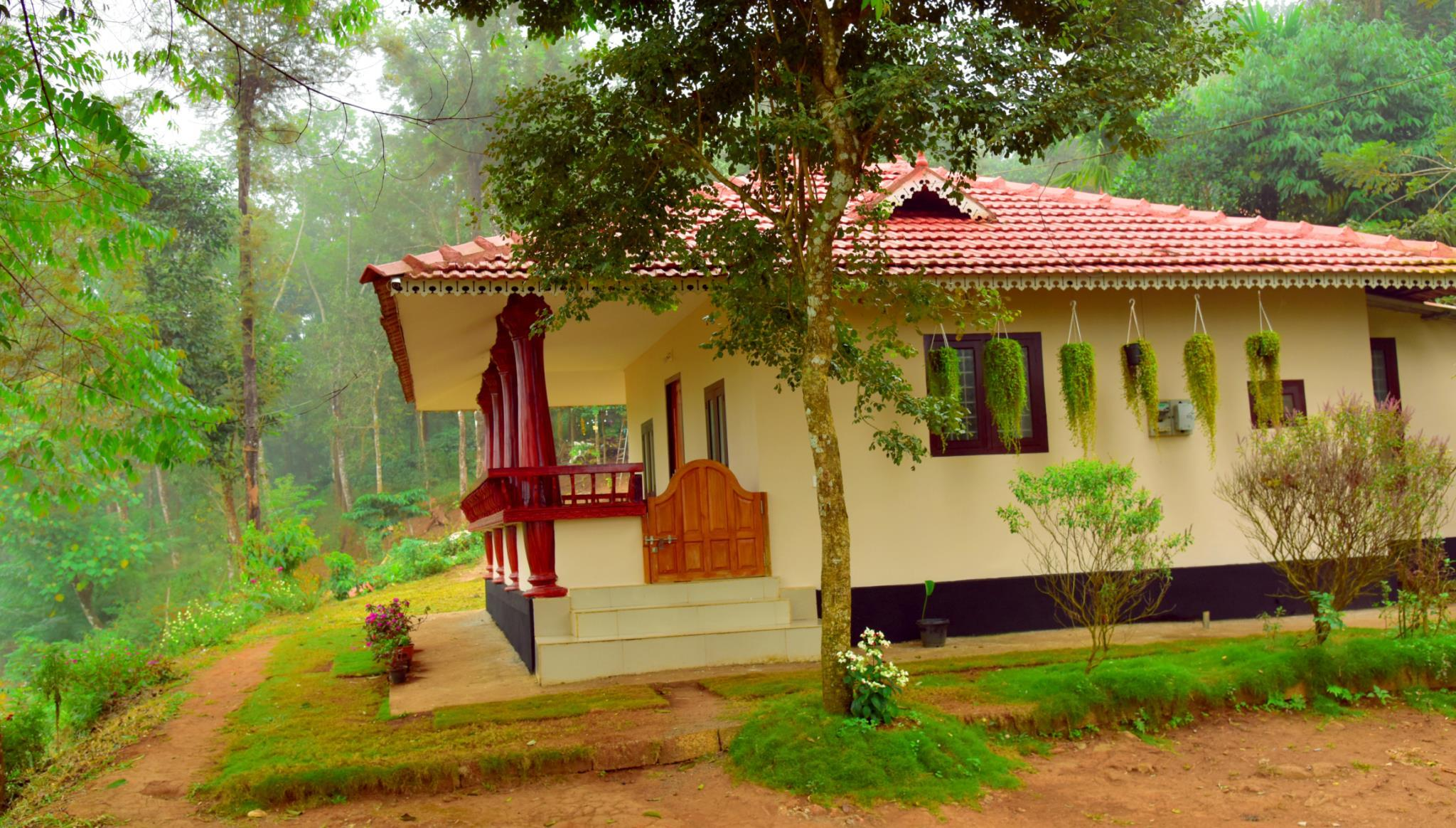 Green Garden Rose Villa