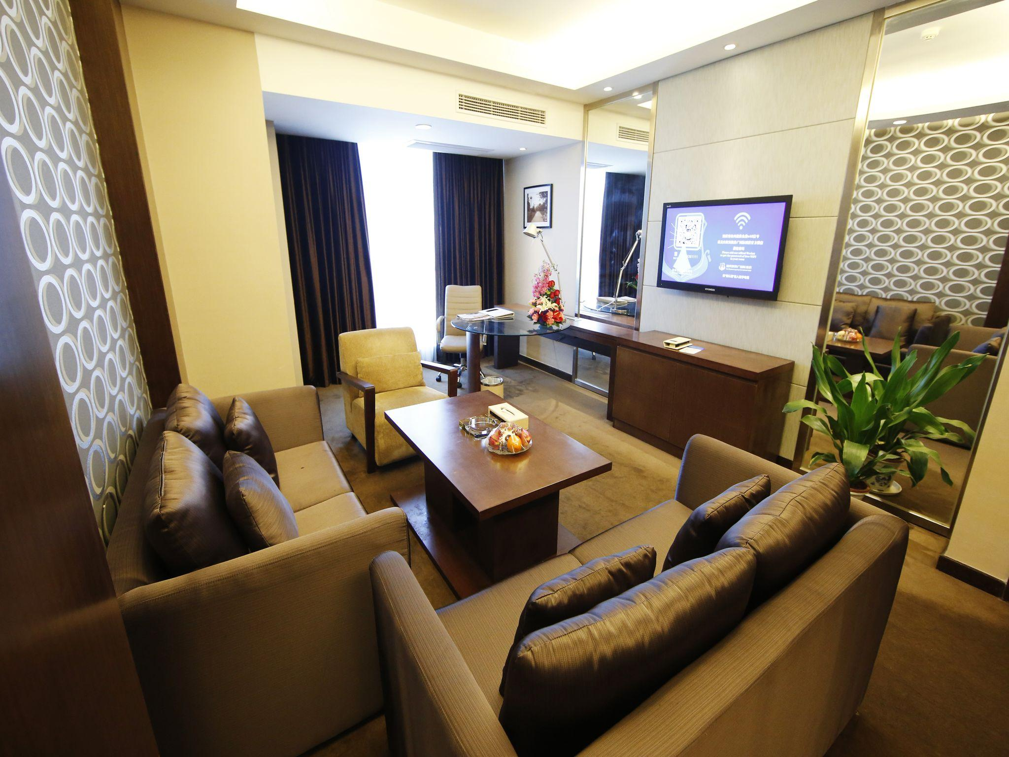New Beacon Luguang International Hotel   Wuhan Optics Valley Plaza