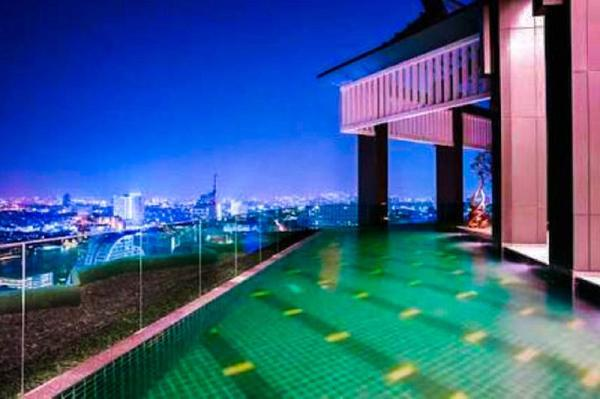 Grand Chaophaya Diamond Sky Kitchen,Pool,GYM,BTS Bangkok