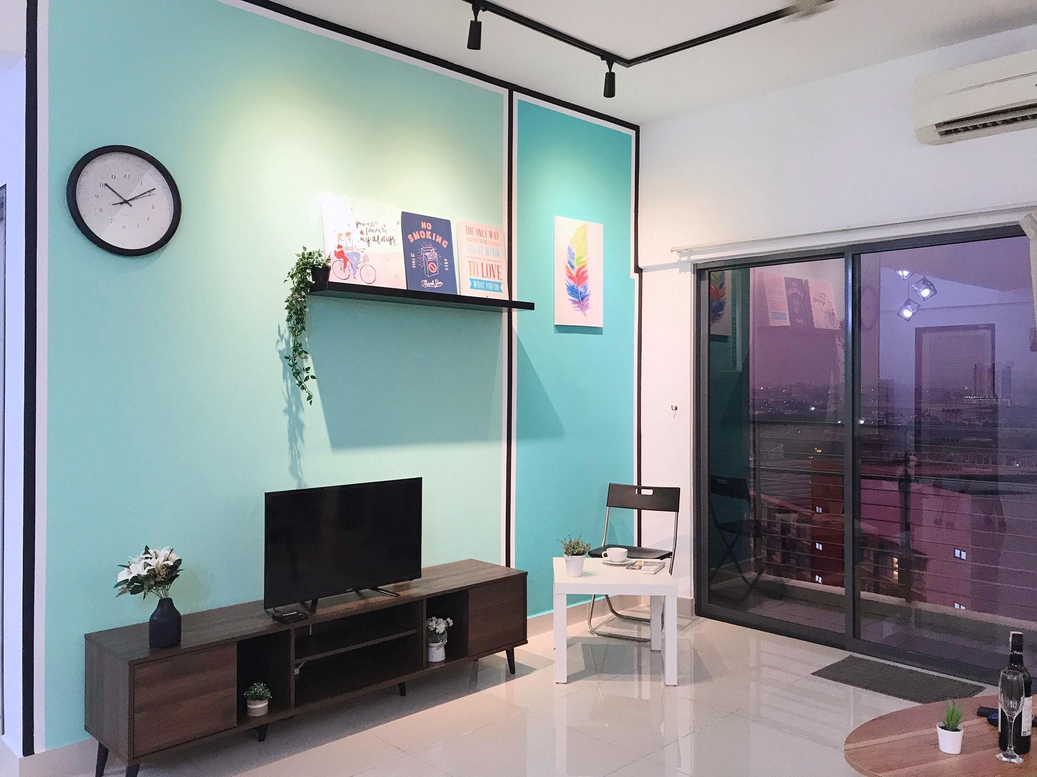 6 8 Pax SetiaWalk 5min LRT Cozy Apartment Puchong