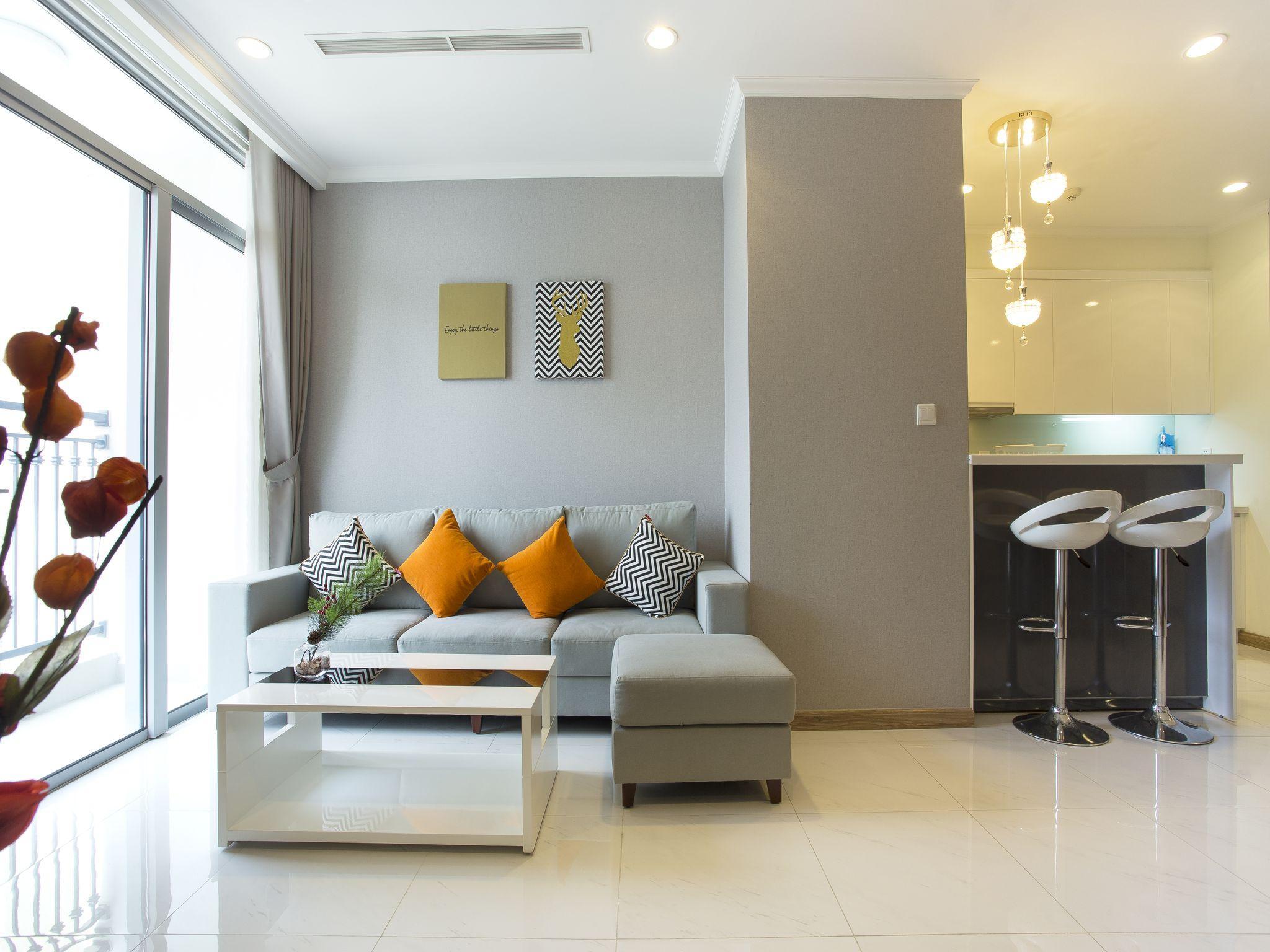1101  Vinhomes Central Park 2 BR Tan's Apartment