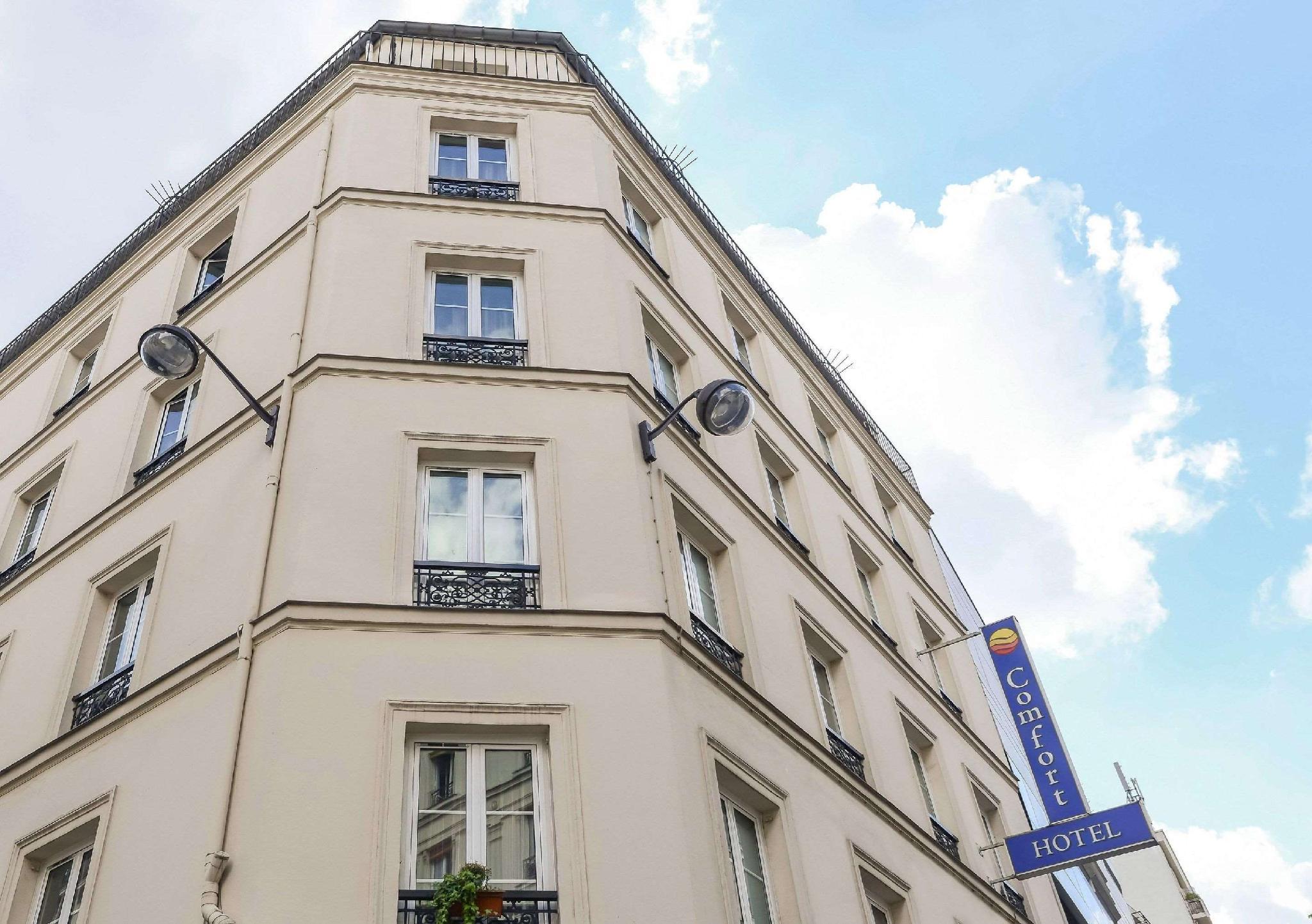 Comfort Hotel Nation Pere Lachaise Paris 11