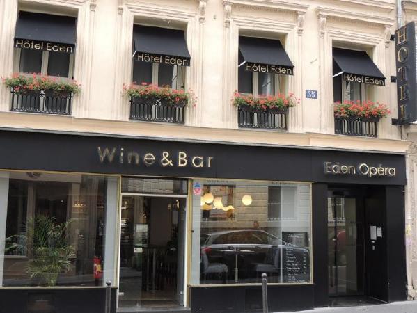 Hotel Eden Opera Paris
