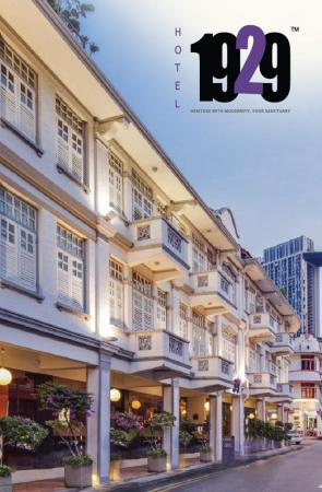 hotel 1929 singapore singapore great discounted rates