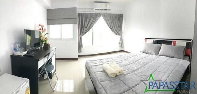 อพาร์ตเมนต์ 1 ห้องนอน 1 ห้องน้ำส่วนตัว ขนาด 20 ตร.ม. – สามพราน – Papasstar Residence Deluxe 3