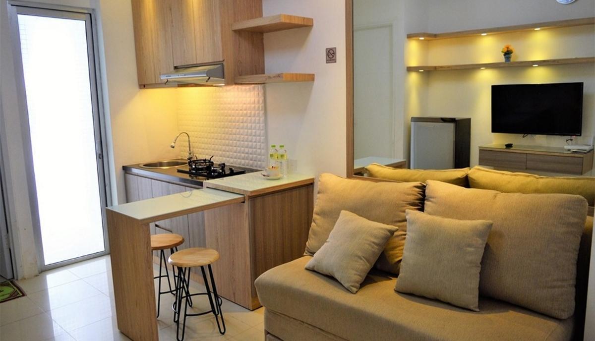 Bassura City Apartment By Roomku   2 BR Unit 12