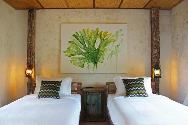 Baanchandra Deluxe Twin Room with Garden View Chiang Mai