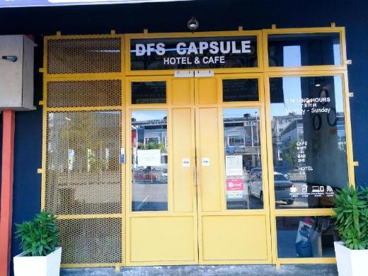 DFS Capsule Hotel