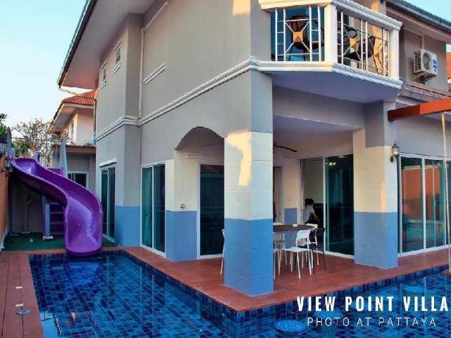 7 ห้องนอน 7 ห้องน้ำส่วนตัว ขนาด 500 ตร.ม. – หาดจอมเทียน – The seaside luxurious pool villa
