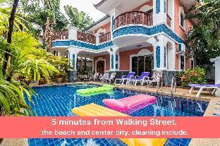 %name Pool villa 6 bedrooms 5 min Walking Street & beach พัทยา