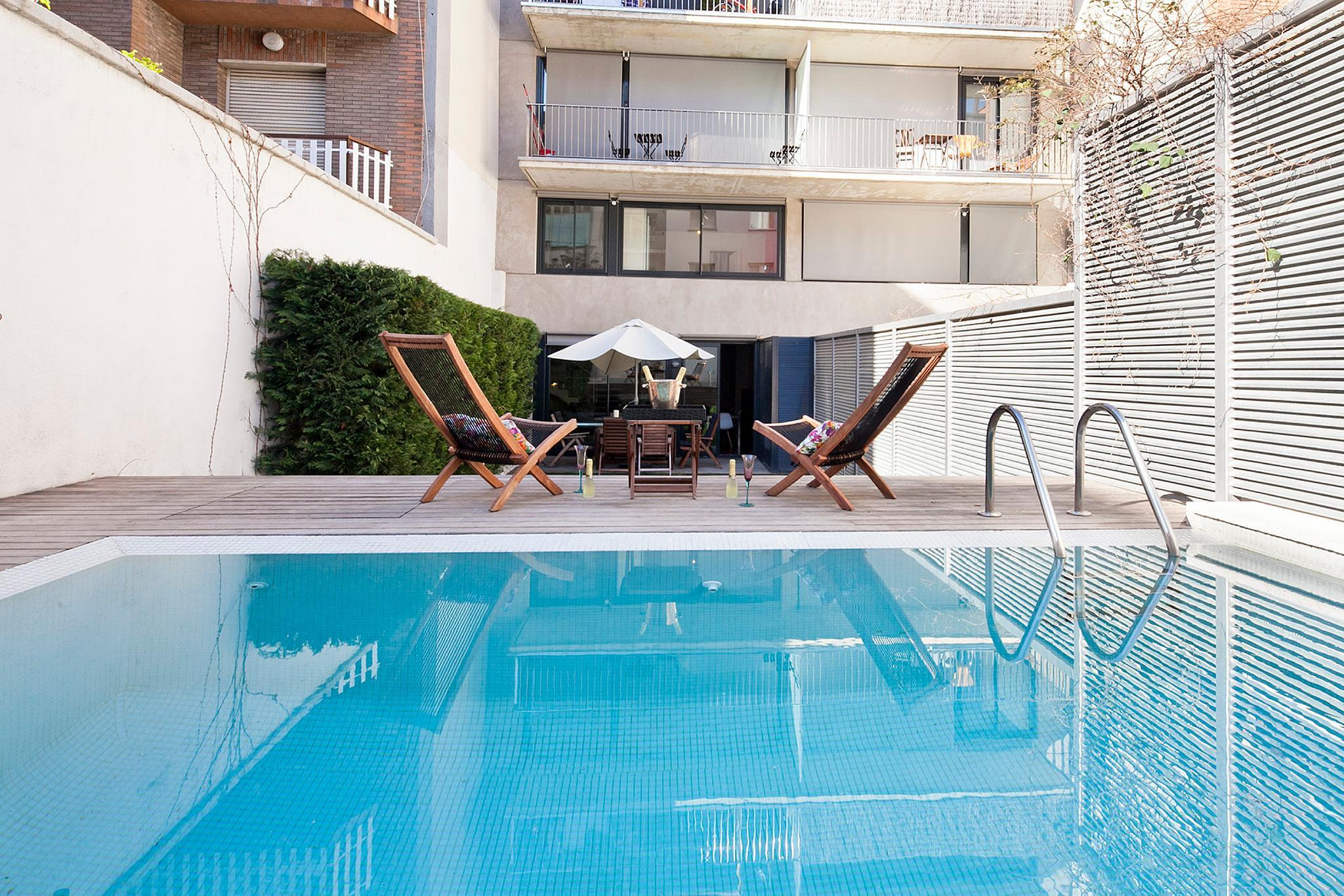 Private Pool Garden Apartments