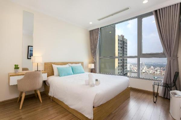YUSTAY 3809-FANCY River View 2BR Apt in Central Ho Chi Minh City