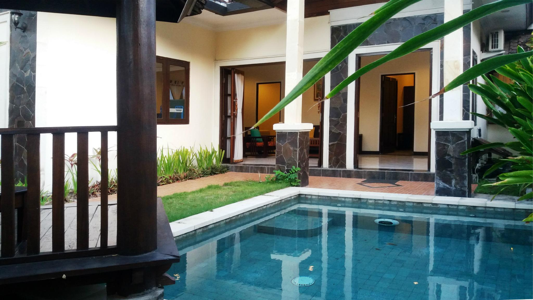 Homely 2 Bedroom Villa With Private Pool And Kitchen