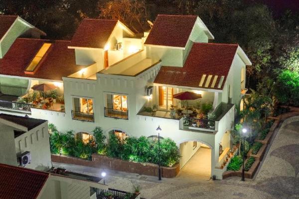 Villas Joystreet Bliss (Beachy Blossom) Goa