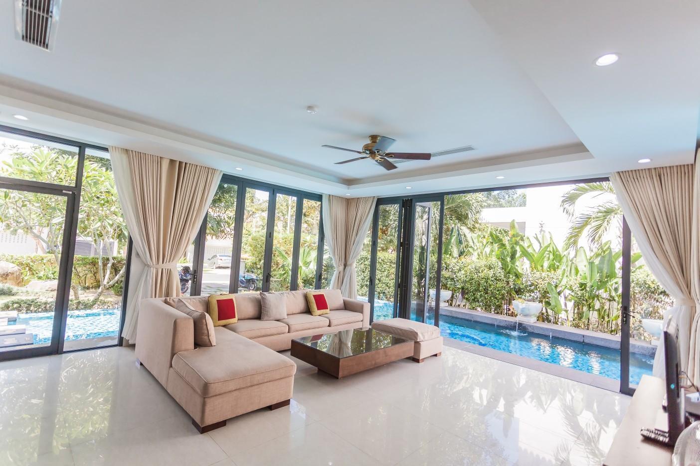 Deluxe Pool Villa In Beach Resort  4BR
