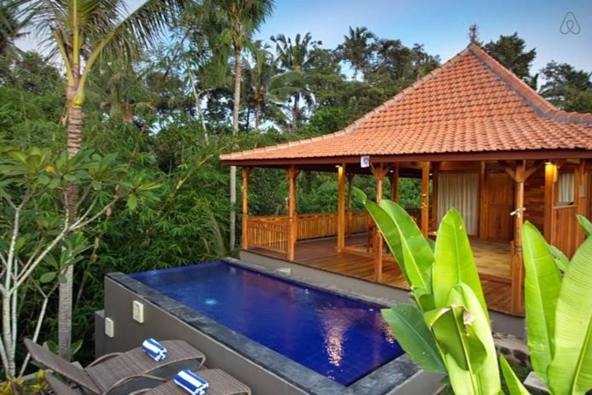 Review 1 BDR Pool Villa Ubud in Sayan