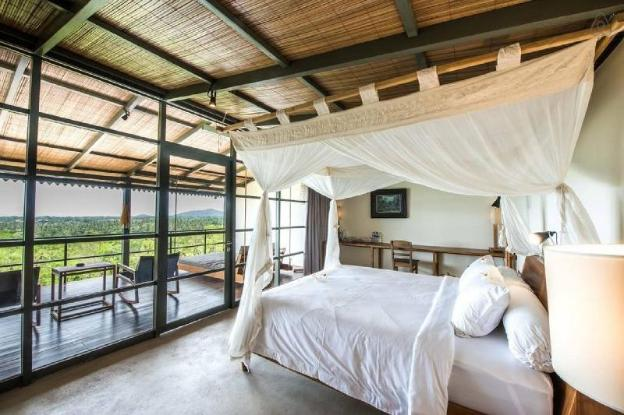 Luwih 1, romantic room with a view and shared pool