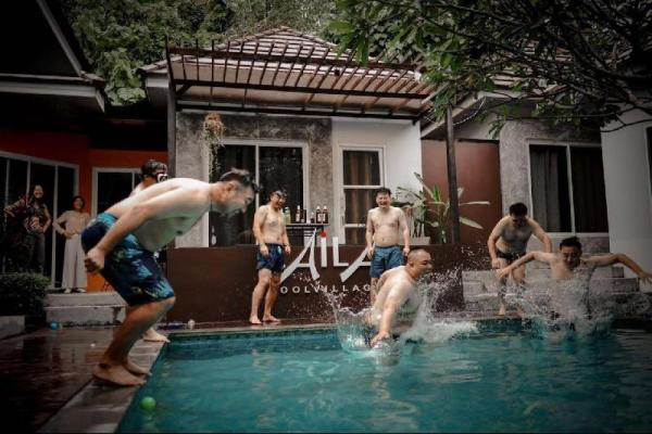 Private Pool Villa 7BEDR AN EXCLUSIVE  Phuket