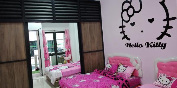 Hello Kitty apartment Cameron Highlands