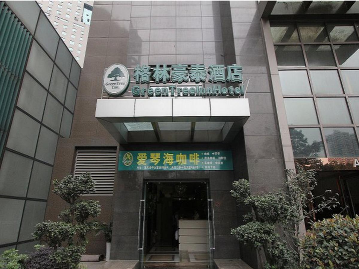 GreenTree Inn ChongQing LiangLuKou Subway Station Express Hotel