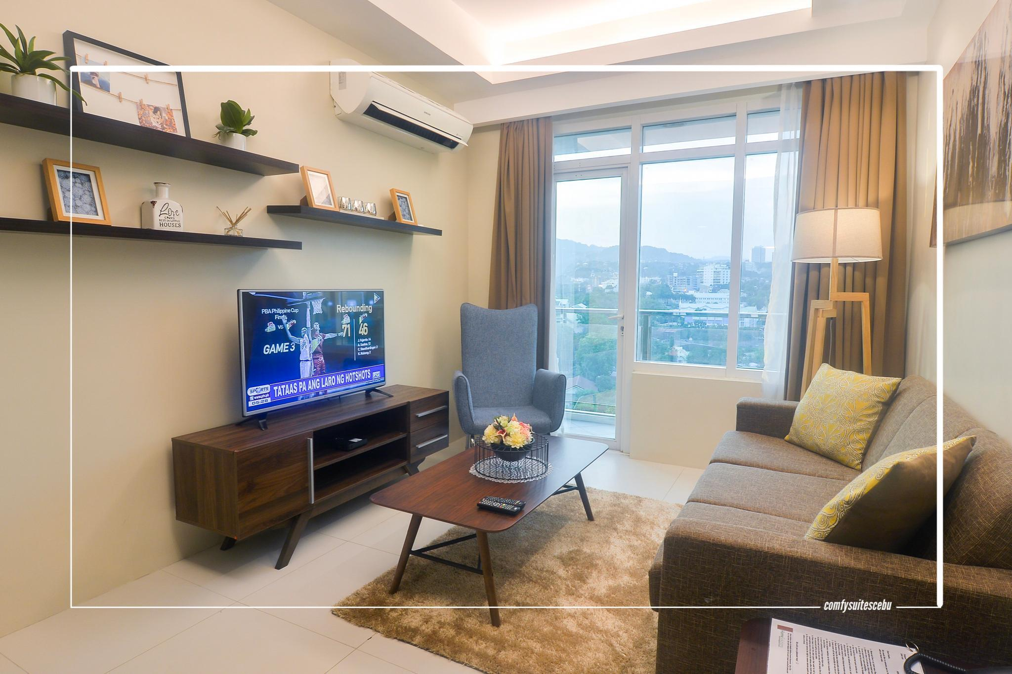 A2   Spacoius And Clean 1 Bedroom Near Ayala Mall
