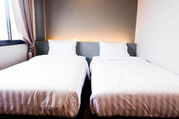 4#Lux Rooms Night Bazaar - Twin Bed Studio Chiang Mai