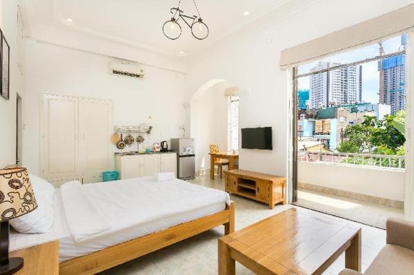 Halo Apartment With Balcony Ho Chi Minh City