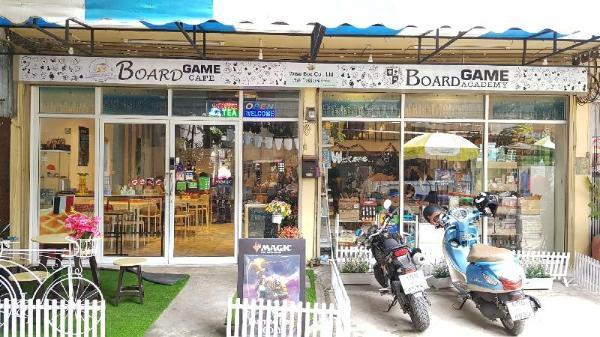 Board Game Hostel Bangkok