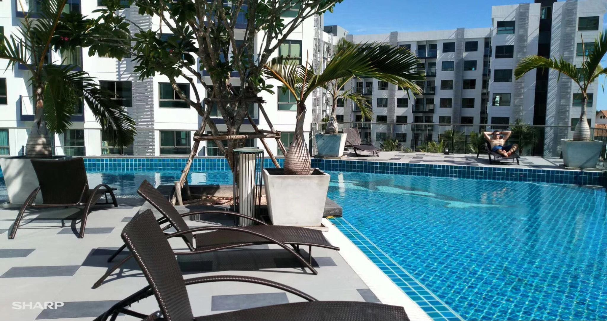 Arcadia Beach Resort Direct Access To Swiming Pool