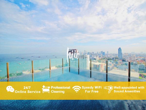 [hiii]CoffeeThemed|Rooftop Boundless Pool-UTP005 Pattaya