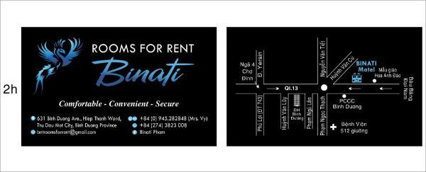 Binati rooms for rent at Thu dau mot Binh Duong