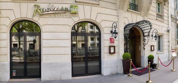 Radisson Blu Hotel Champs Elysees Paris