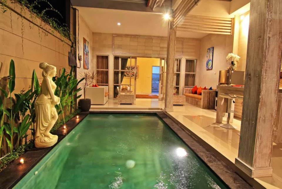 173 Suite Room With Ktchn And Private Pool In Ubud
