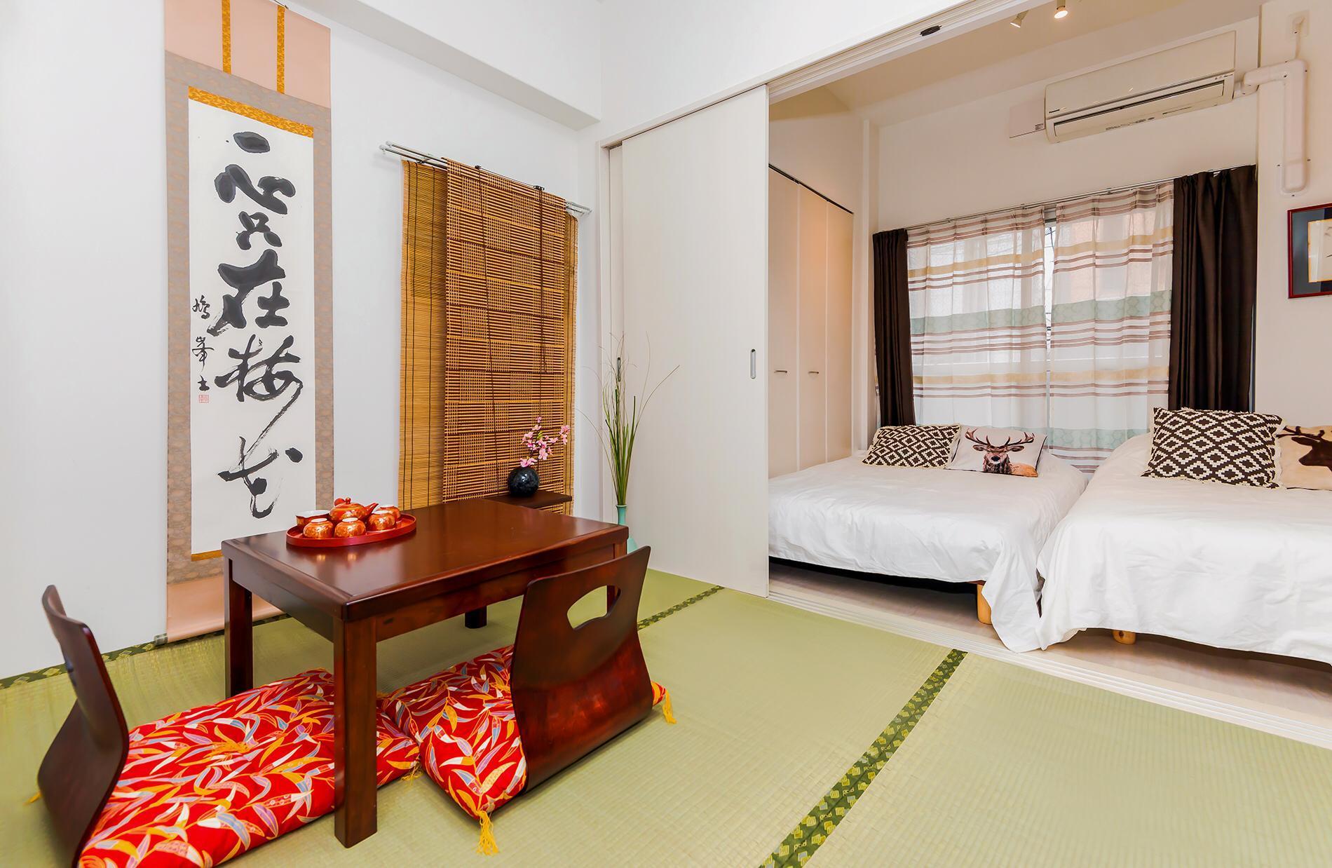 7mins Shinsaibashi Comfor Apartment Free Wifi24