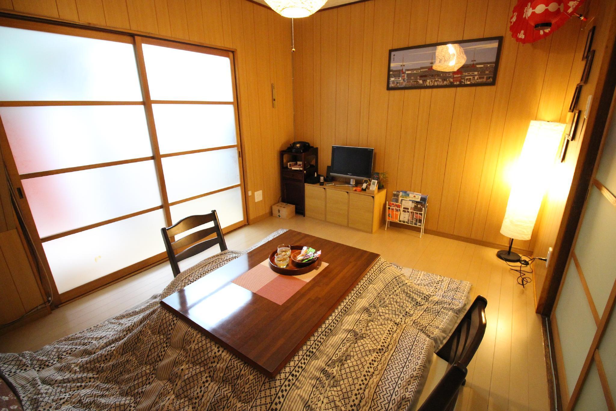 5min To JR Otsu Sta 2sta To Kyoto 2BR Free Wifi