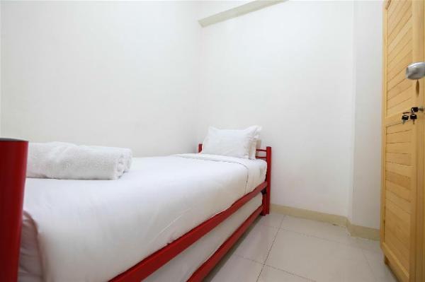 2BR Artistic Room Green Pramuka Apt By Travelio Jakarta