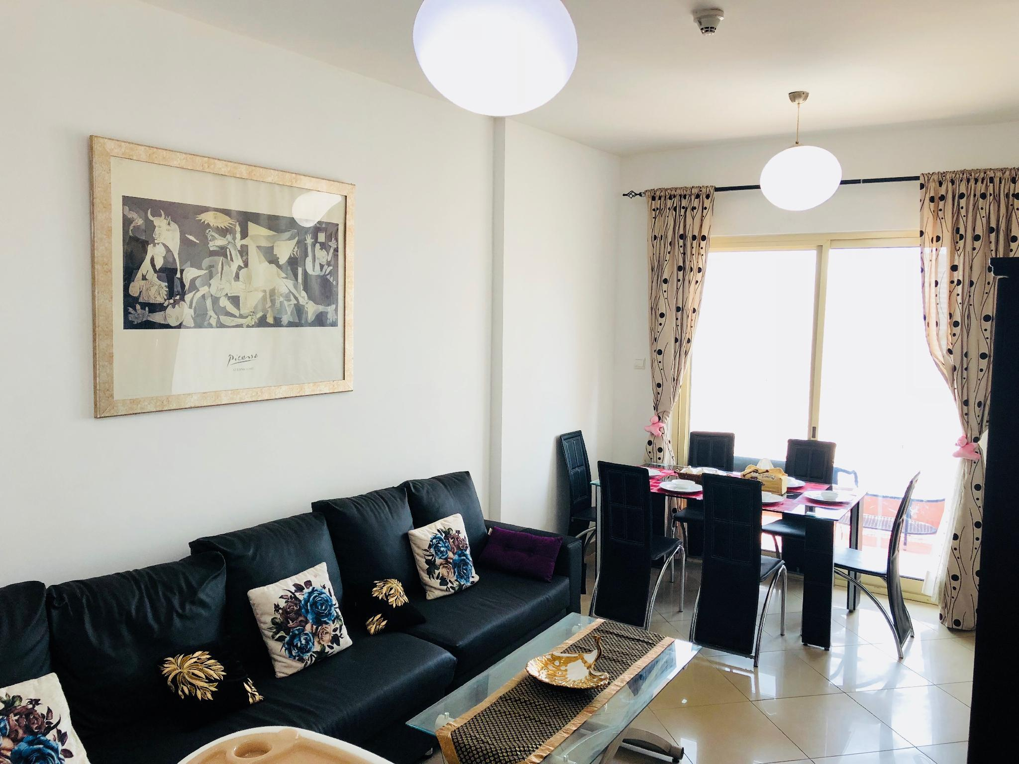 2BHK Luxury Lake And Sea View Apartment In Dubai.