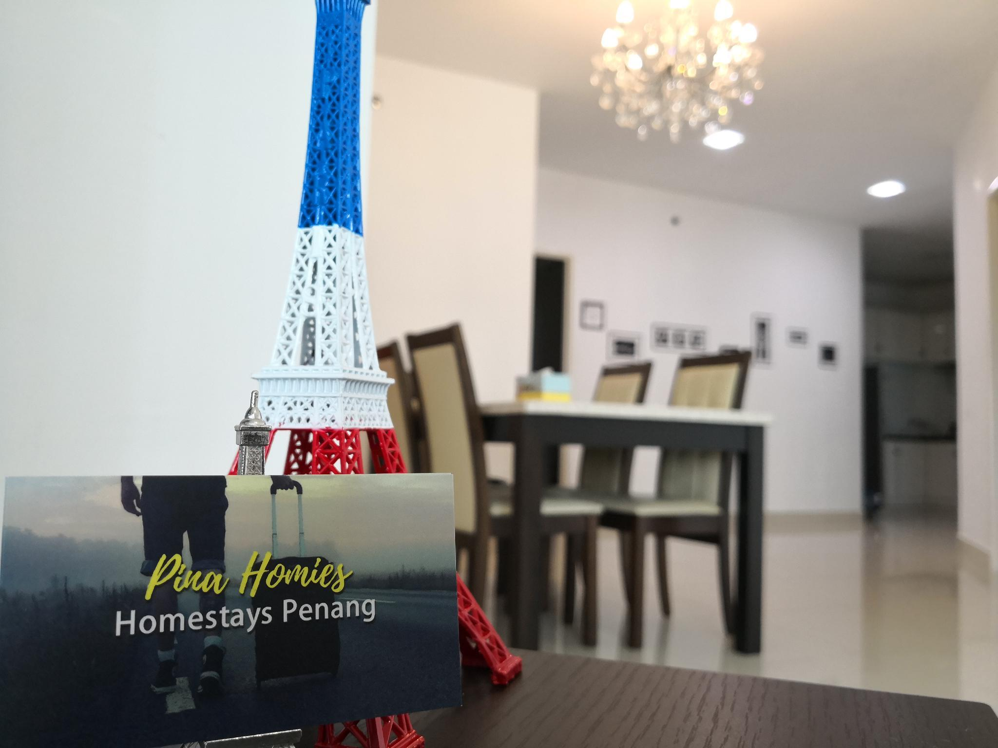 PinaHomies 2 Bedroom Seaview Suite @ Gurney Drive