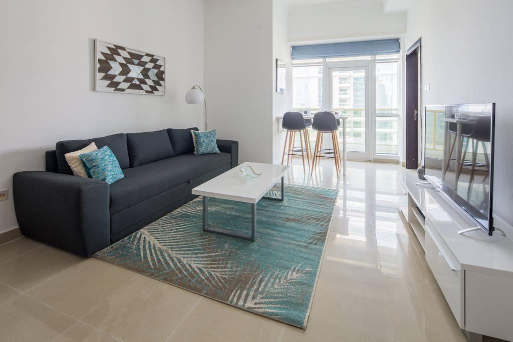 Cozy 1BR Apartment In Heart Of JLT   Sleeps 4