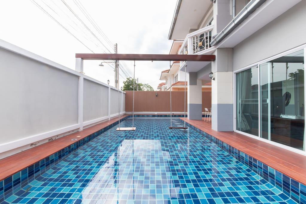 Pattaya 7bedroom Pool Villa Hotel Near Beach