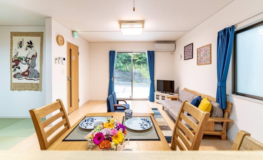 NEW OPEN Cozy House B For Group.8 Guests 3rooms