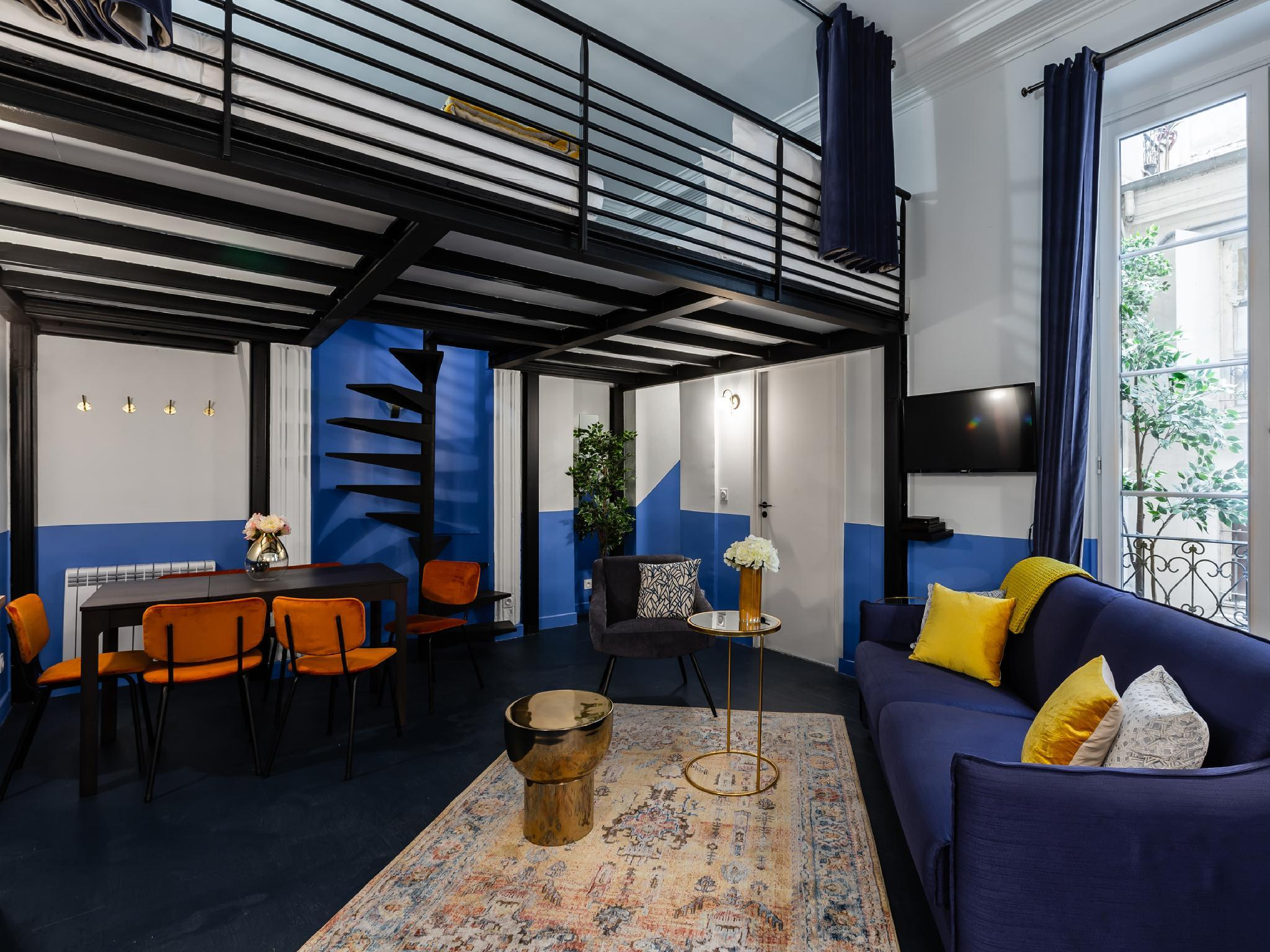 Luxury 2 Bedroom 2 Bathroom - AC - Louvre & Marais