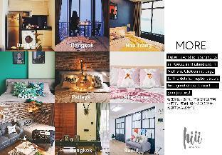 [スクンビット]アパートメント(29m2)| 1ベッドルーム/1バスルーム 【hiii】Charming HighFL Studio/Cloud Pool&Gym-BKK098