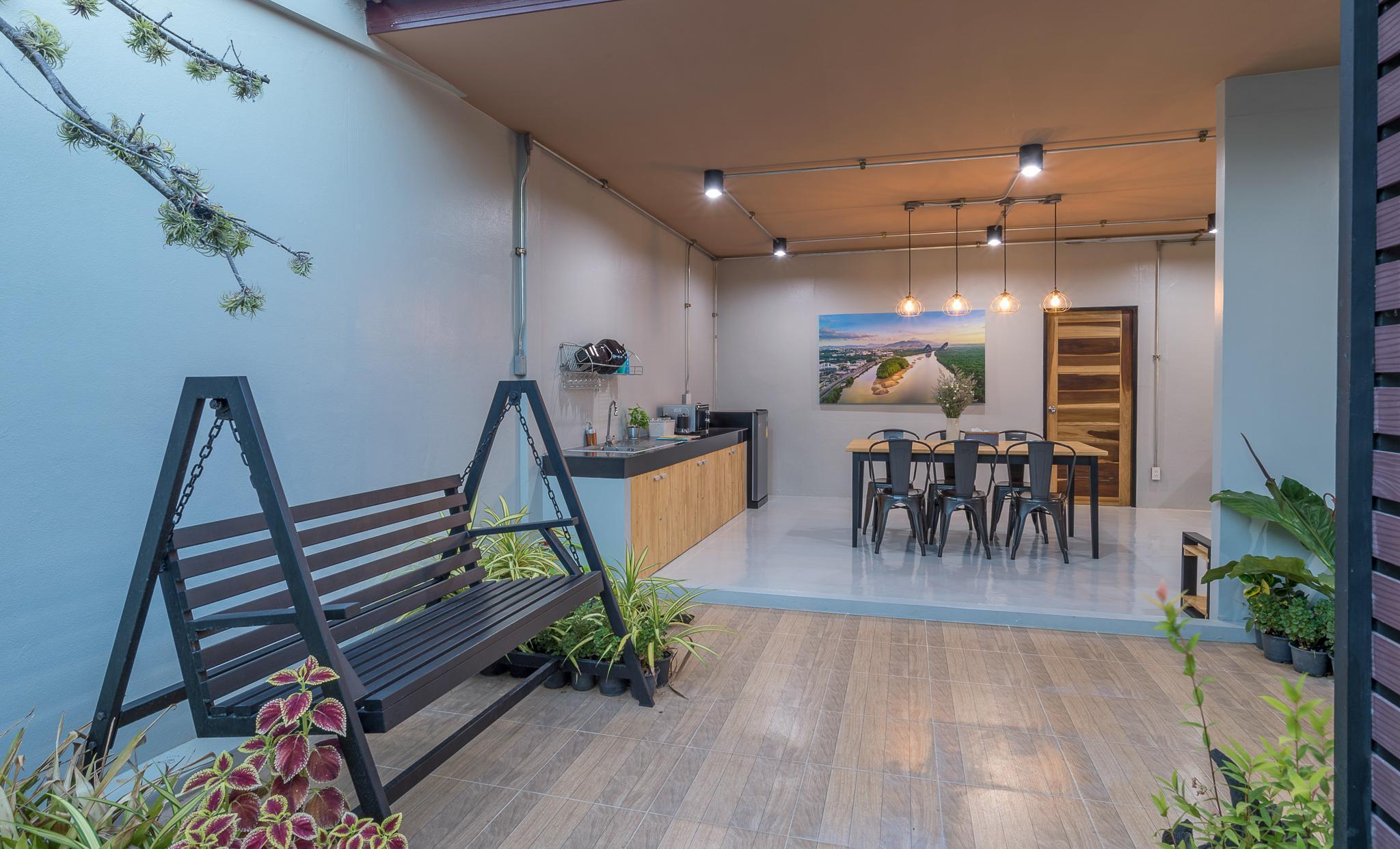 Brand New Loft 120s.qm. Room 100m. to Night Market อพาร์ตเมนต์ 2 ห้องนอน 2 ห้องน้ำส่วนตัว ขนาด 120 ตร.ม. – ตัวเมืองกระบี่