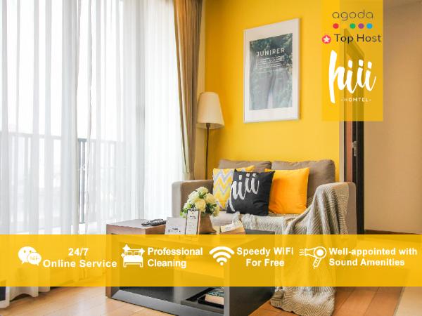 [hiii]Cattleya/50sqm2BR/RooftopInfinityPool-CNX010 Chiang Mai