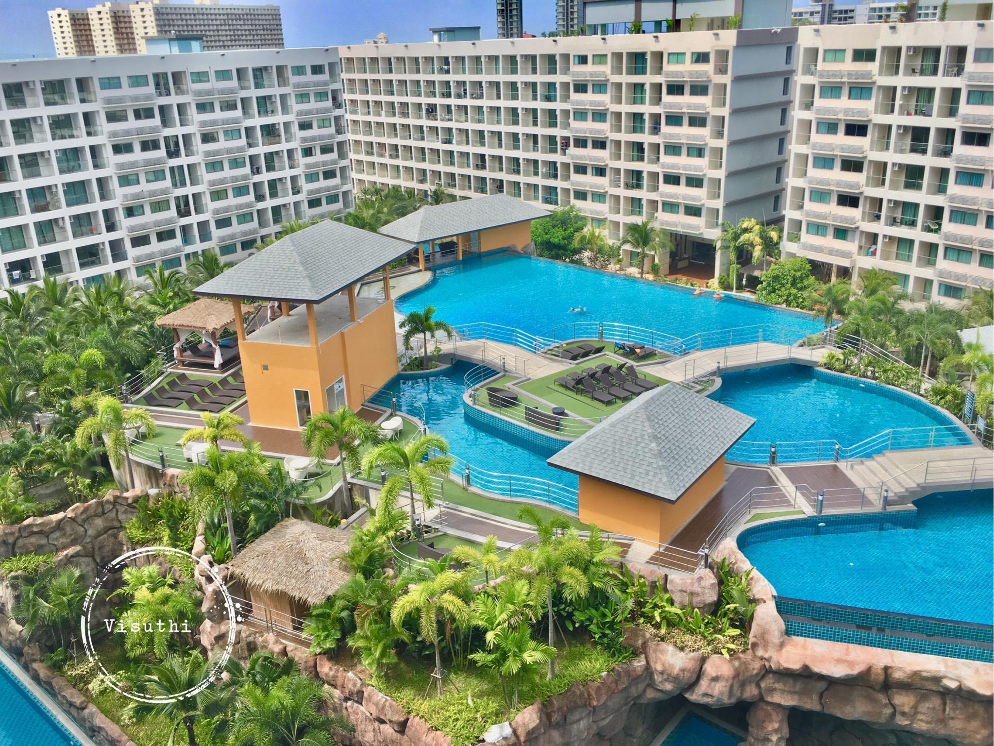 Pattaya Laguna Beach Resort 3 - The Maldive อพาร์ตเมนต์ 1 ห้องนอน 1 ห้องน้ำส่วนตัว ขนาด 28 ตร.ม. – หาดจอมเทียน